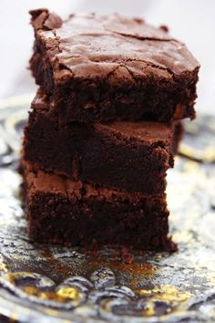 Julia Child's favorite brownies, these have to be great...