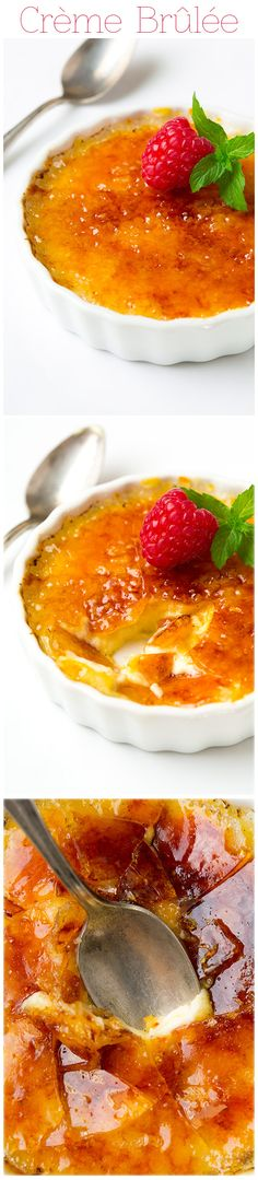 Crème Brûlée - this is to die for! The best Creme Brulee I've ever had!! It's easy to make too.