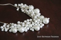 Three Wedding Pearl Necklace Tutorials