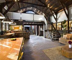 Very cool loft.