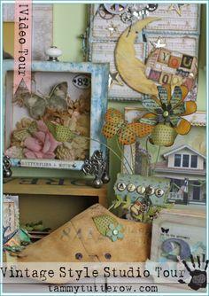 studio, craft supplies, art idea, inspir, creation idea