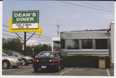 Saw this in Altoona, PA and just had to snap a pic. Dean's Diner...has a nice ring to it :)