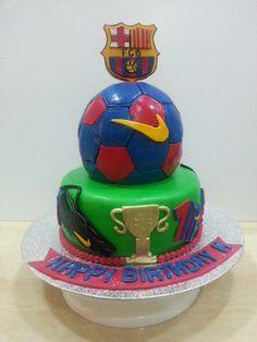 3D FCB cake