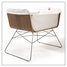 Mid Century Bassinet, makes me want another baby :)