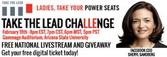 2/19 - Take The Lead Challenge Launch Event