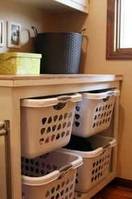 """laundry sorting ideas"" #laundry Laundry Room Decor and Organizing Tips"