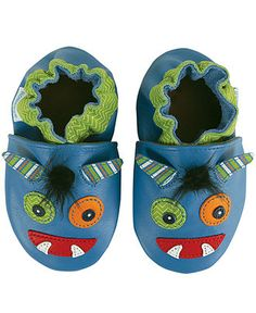 Baby Boys Monster Shoes