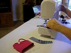 How to Make Doll Tank Top Pt. 3 How to make the spagetti straps and turn with a loop turner or looper.