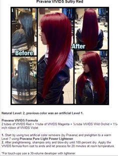 chair, hair colors, magenta, red hair, ribbons