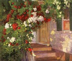 Old Fashioned Roses, Bessie Hoover Wessel. American (1889 - 1973)