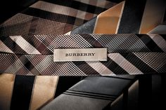 Ties by 'Burberry'