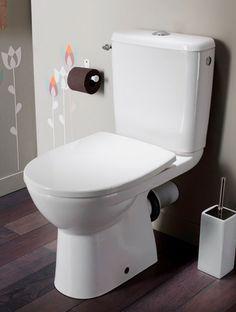 Les wc aussi sont mimi on pinterest purple bathrooms for Peinture wc design