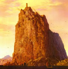 Casterly Rock by Ted Nasmith