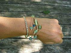 Hope Studios: Leather Beaded Bracelet / Necklace Tutorial