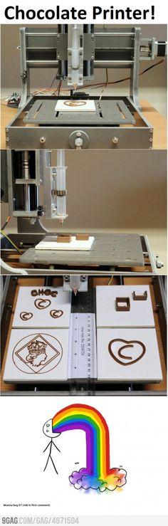 """Chocolate Printer""  Where to get one???"