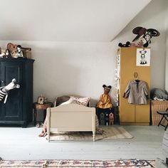 kids room vintage st