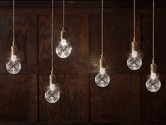 Etched bulbs - nice!