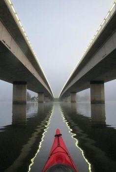 Commonwealth Avenue Bridge, Lake Burley Griffin, Canberra, Australia