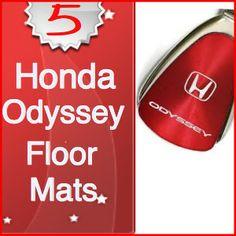Images About Honda Odyssey Floor Mats On Pinterest