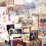 apart decor, cork boards, collag board, jemima kirk, bohemian decor