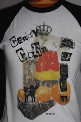 Candy Corn Queen Raglan Tee