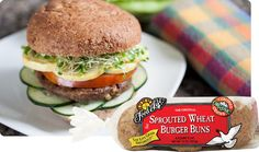 Sprouted Whole Wheat Burger Buns | Food For Life