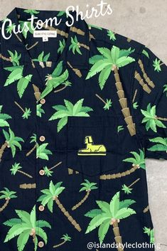 Your Club - Your design - Your logo - Your business - Your shirt. We create and supply custom designed shirts and shorts for your next group, family or corporate event. Or we can simply add your logo.  #palmshirts #customshirts #customhawaiianshirts #corporateshirts #eventshirts #festivalshirts #uniforms #groups #corporate #tourshirts #corporateshirts #festivalfashion #customtshirts #customt-shirts #custom-shirts