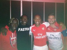 Arsenal's shit new Puma kit 'leaked' by Linford Christie