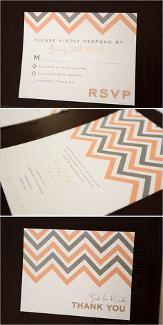 free chevron wedding invite #chevroninvitations #freeprintables #weddingchicks http://www.weddingchicks.com/2014/01/08/groomal-shoot/