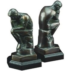 Gift Idea: Thinker Bookends #summerpartypinoff