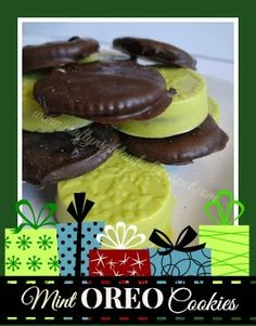 Crafty Night Owls: Christmas Series Day 18 - Mint Oreo & Ritz Cracker Cookies