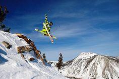 chutes skiing by Mt. Rose Ski Tahoe, via Flickr