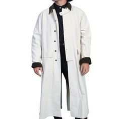 Scully Men's Authentic Canvas Duster