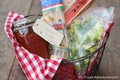 Tons of great ideas for meals to take to new moms for sick friends!  Several ideas for fast and thoughtful meals! Pin this for when you need it!