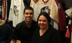 Ladies Night....Parker Stanfield with fan Mandy Pennington!