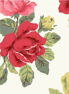The Lark: New Cath Kidston Prints, Floral print, flower, flowers, floral, flora