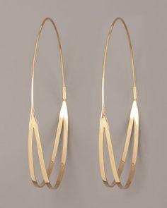Flirt Hoop Earrings by Lana
