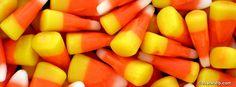 Candy corn Facebook Cover