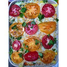 ... summer, baked eggs, egg food, squash casserol, summer squash, healthi
