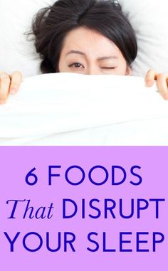 6 foods to avoid before bed
