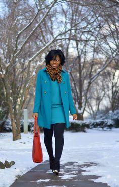 Snow + Turquoise
