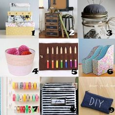 Link Love: Crafty Storage Solutions & Organization Ideas