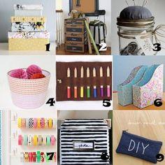 Link Love: Crafty Storage Solutions & Organization Ideas