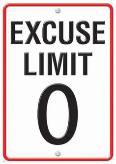 EXCUSE LIMIT 0 LP LARGE POSTERS