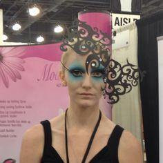 crazi awesom, inspir real, awesom makeup, steam punk, gard makeup, fantasi makeup, guard makeup, costum inspir