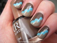 Brown-blue-taupe clouds
