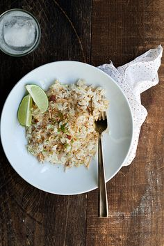 coconut-lime rice salad by cindyrahe, via Flickr