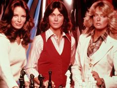 The original Charlies Angels - My sisters and I WERE them! Lol
