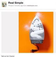 Real Simple is the first print magazine to reach 100,000 Pinterest followers. They are now brand number three on Pinterest behind the wedding blog Perfect Palette (255,000 followers) and Beauty Department (123,000 followers)