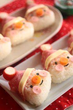 Santa onigiri